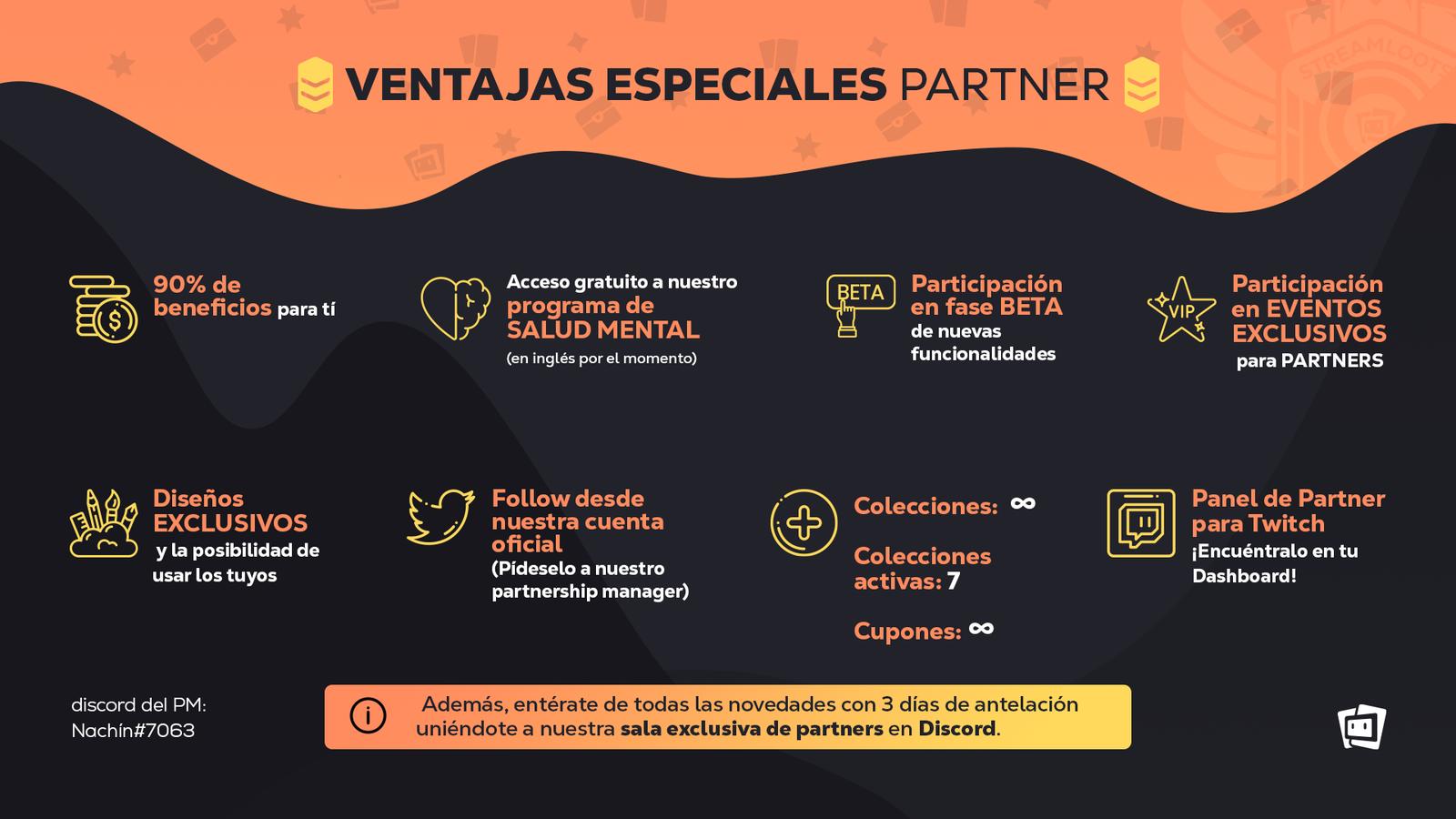 Ventajas especiales de partners